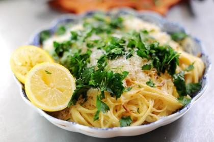 Creamy citrus pasta recipe