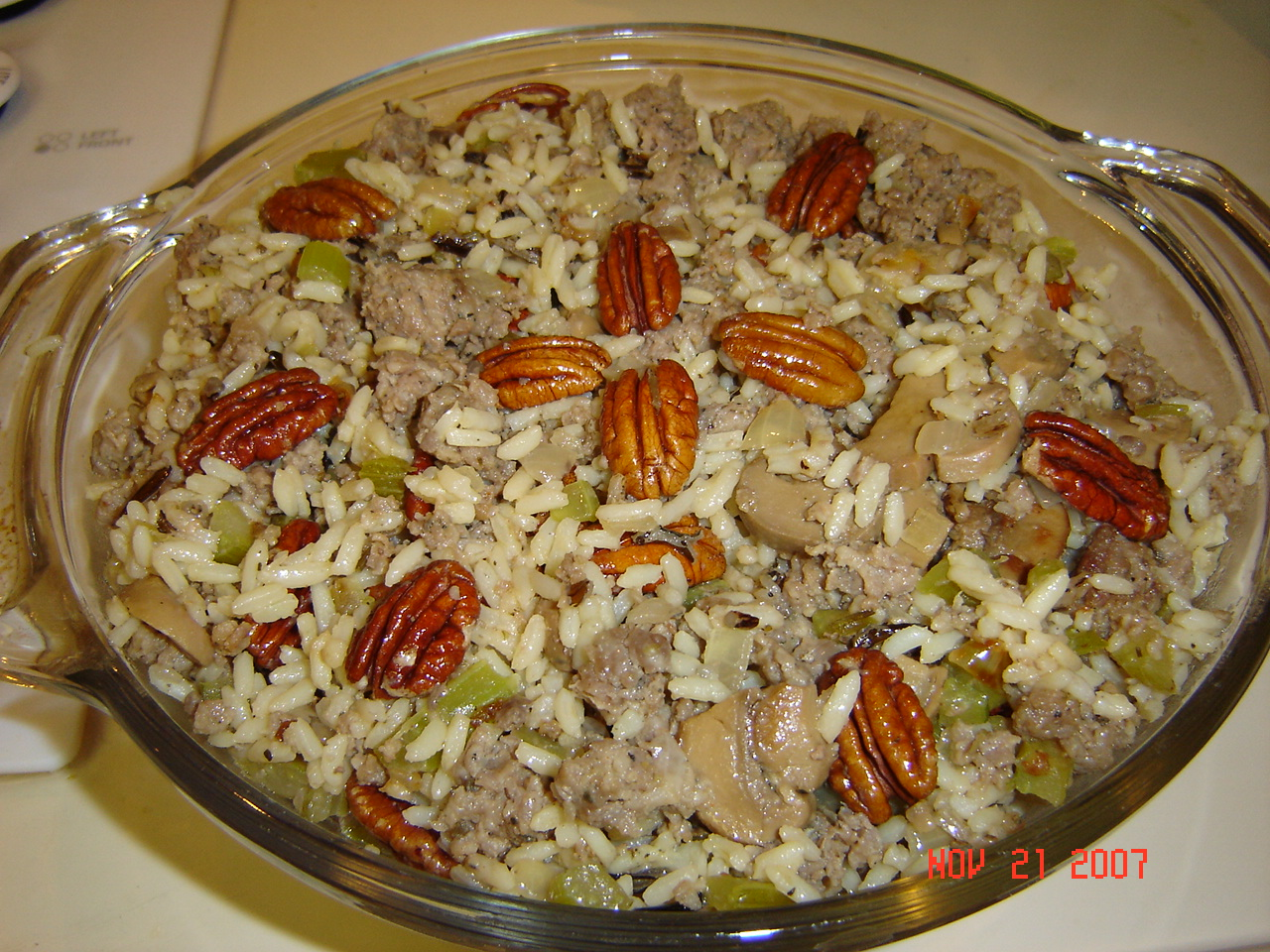 Watch Wild Rice and Basmati Dressing with Sausage and Sage video