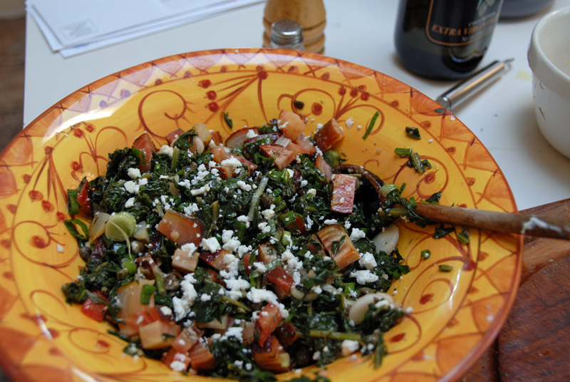 Roasted Beet Salad With Beet Greens and Feta | Tasty Kitchen: A Happy ...