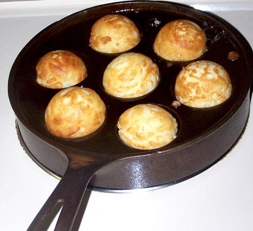 Danish AEbleskivers (non buttermilk recipe)   Tasty ...
