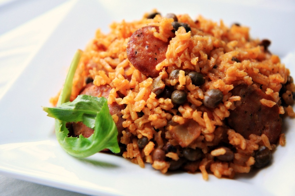 Arroz con Gandules (Rice with Pigeon Peas) | Tasty Kitchen: A Happy ...