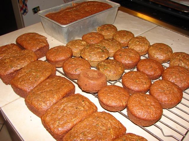 Zucchini Bread, Mini Loaves and Muffins | Tasty Kitchen: A Happy ...