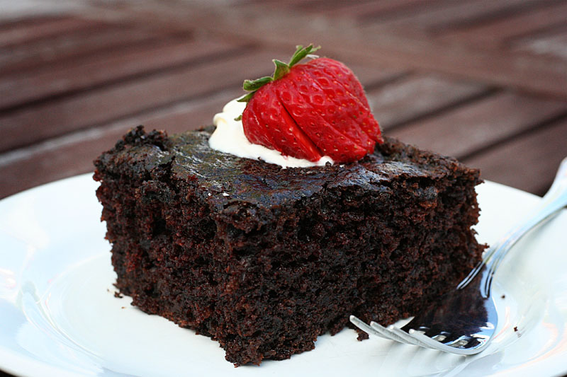 Chocolate Zucchini Fudge Cake | Tasty Kitchen: A Happy Recipe ...