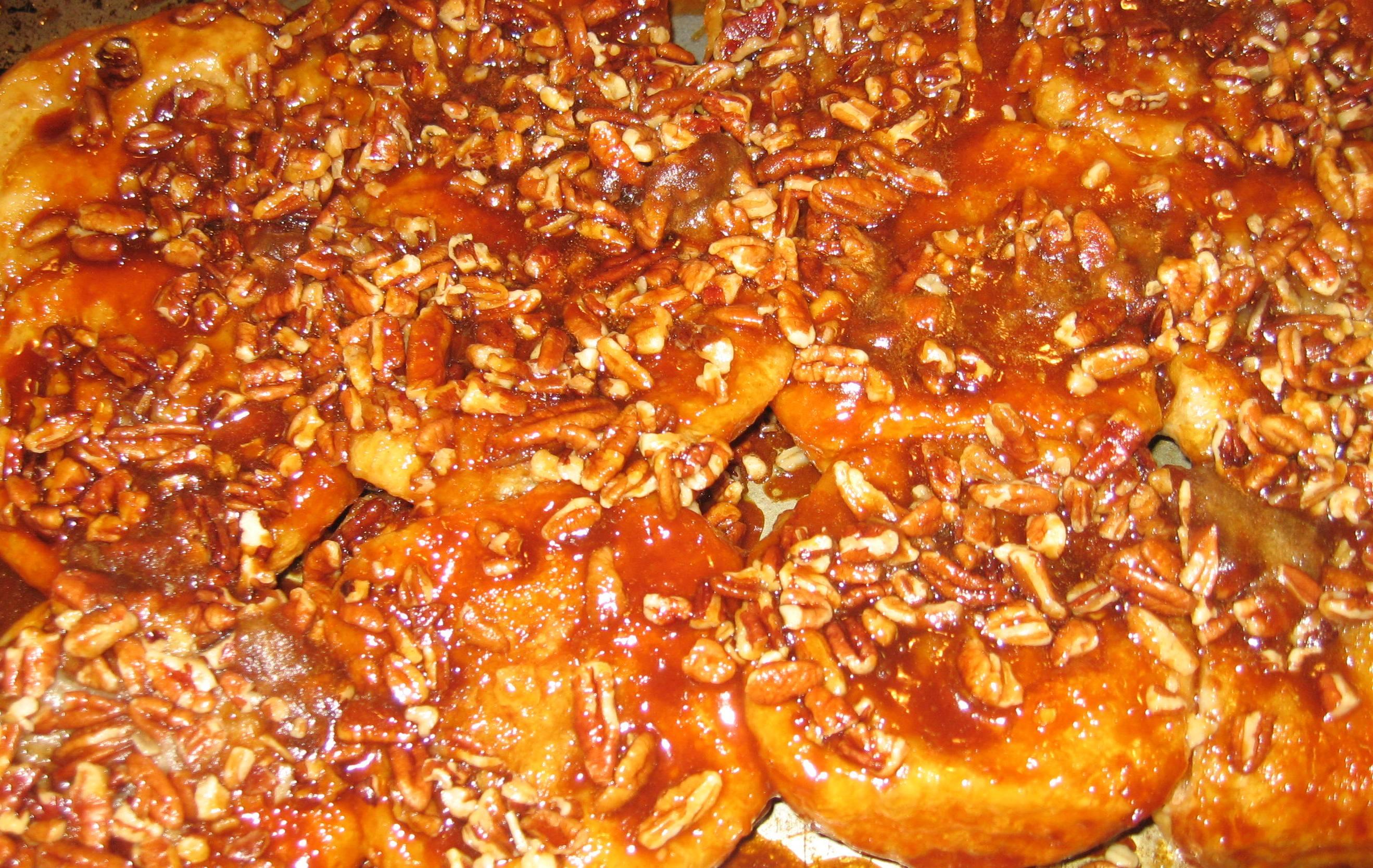 pecan caramel shortbread overnight caramel pecan rolls recipe