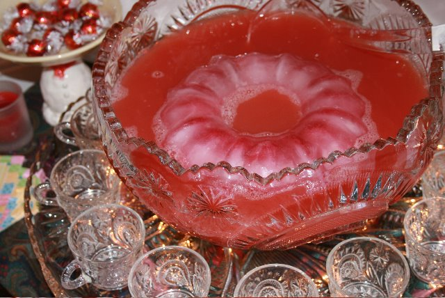 Awesome Party Punch With An Ice Ring Tasty Kitchen A