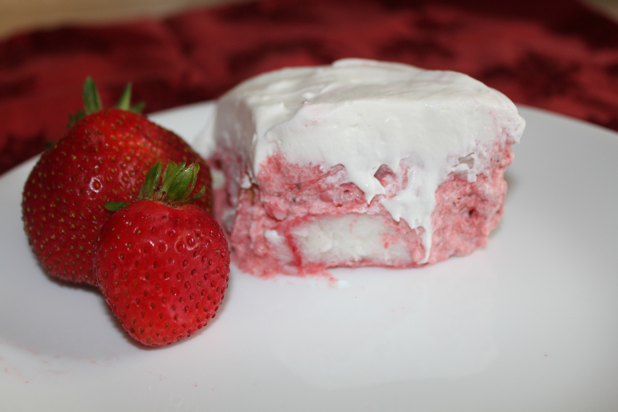 Strawberry angel cake tasty kitchen a happy recipe community forumfinder Image collections
