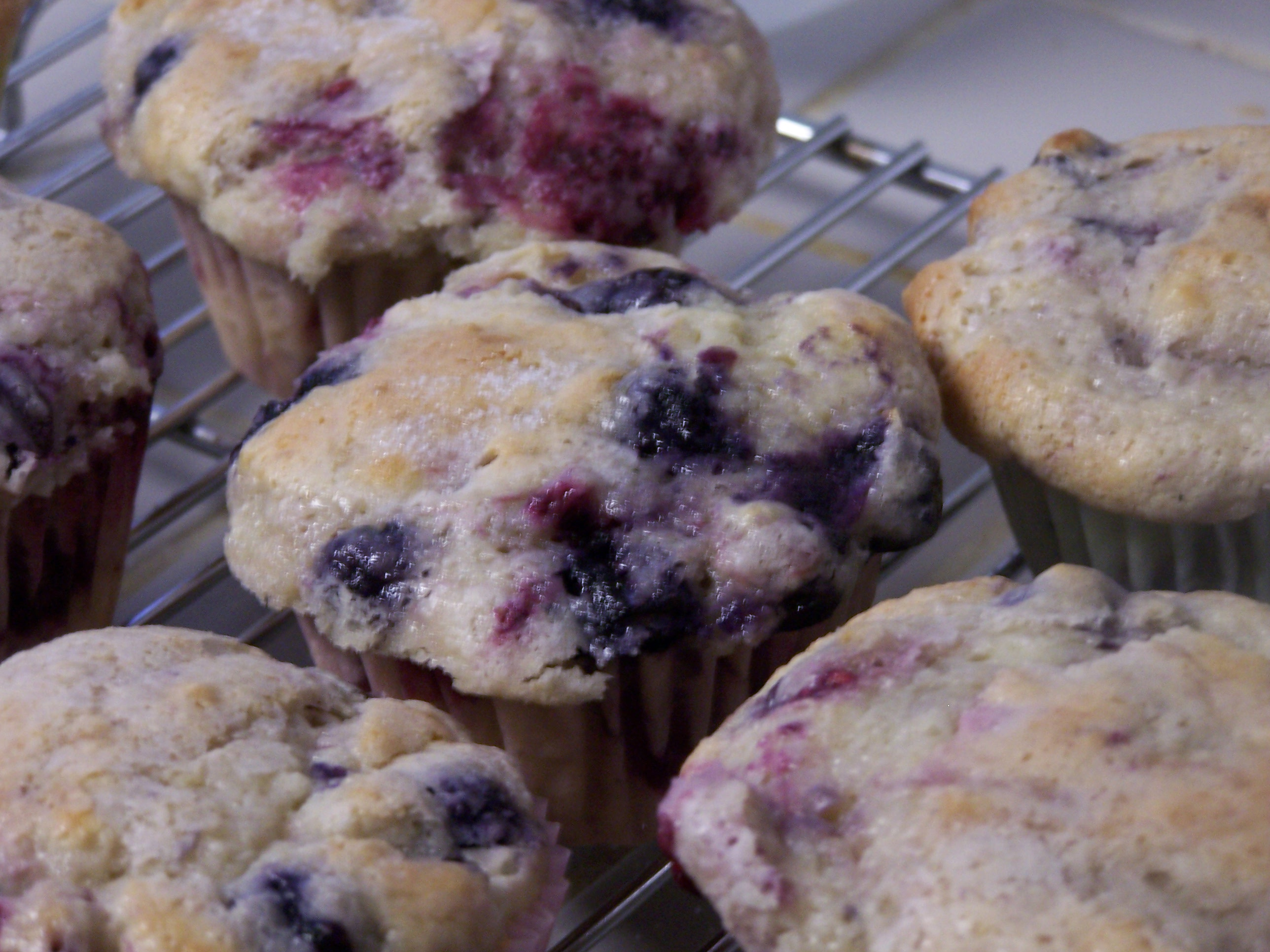 Sour Cream Blueberry Muffins | Tasty Kitchen: A Happy Recipe Community ...