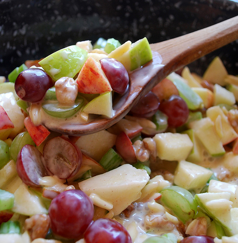 Crunchy Apple & Grape Salad | Tasty Kitchen: A Happy Recipe Community!