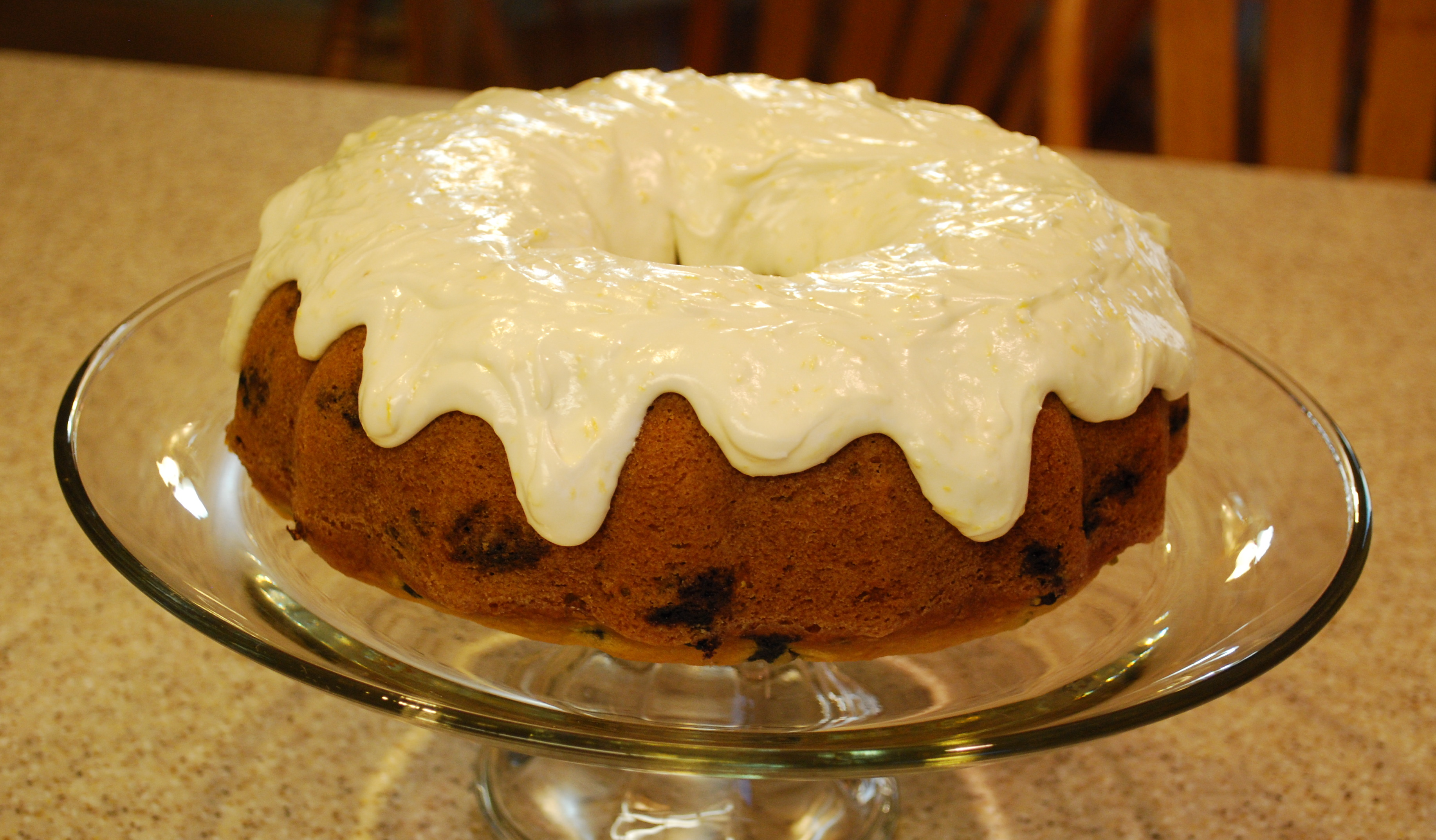 Lemon Blueberry Zucchini Cake With Cream Cheese Frosting Tasty Kitchen A Happy Recipe Community