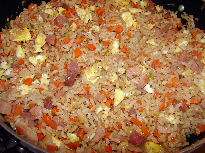 рецепт рис с беконом как в тануки