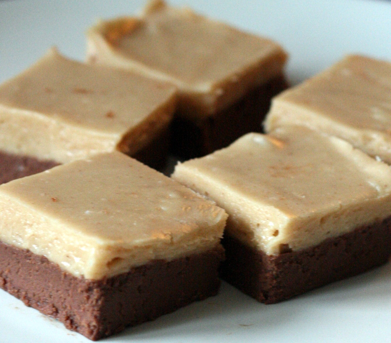 Chocolate Peanut Butter Two-Tone Fudge | Tasty Kitchen: A ...