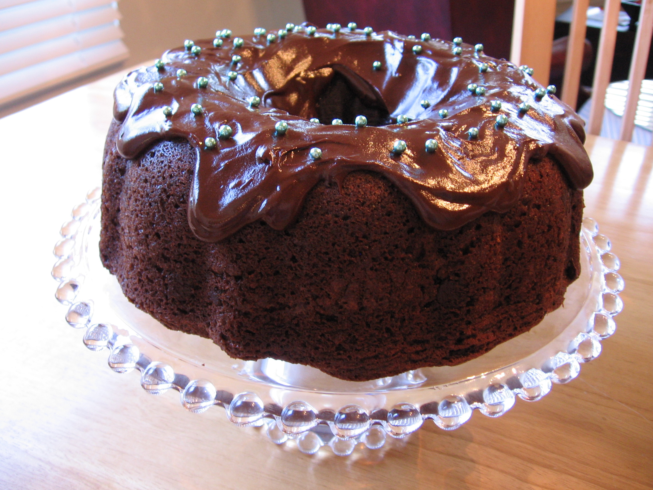 Easy Homemade Chocolate Cake Recipe And The Best: Super Moist Chocolate Bundt Cake
