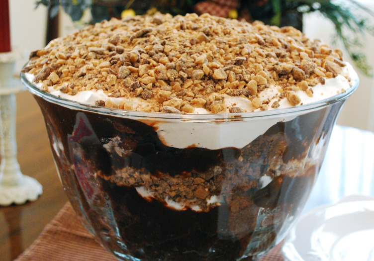 Chocolate Punch Bowl Cake Recipe