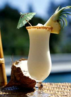 pina colada drink recipe