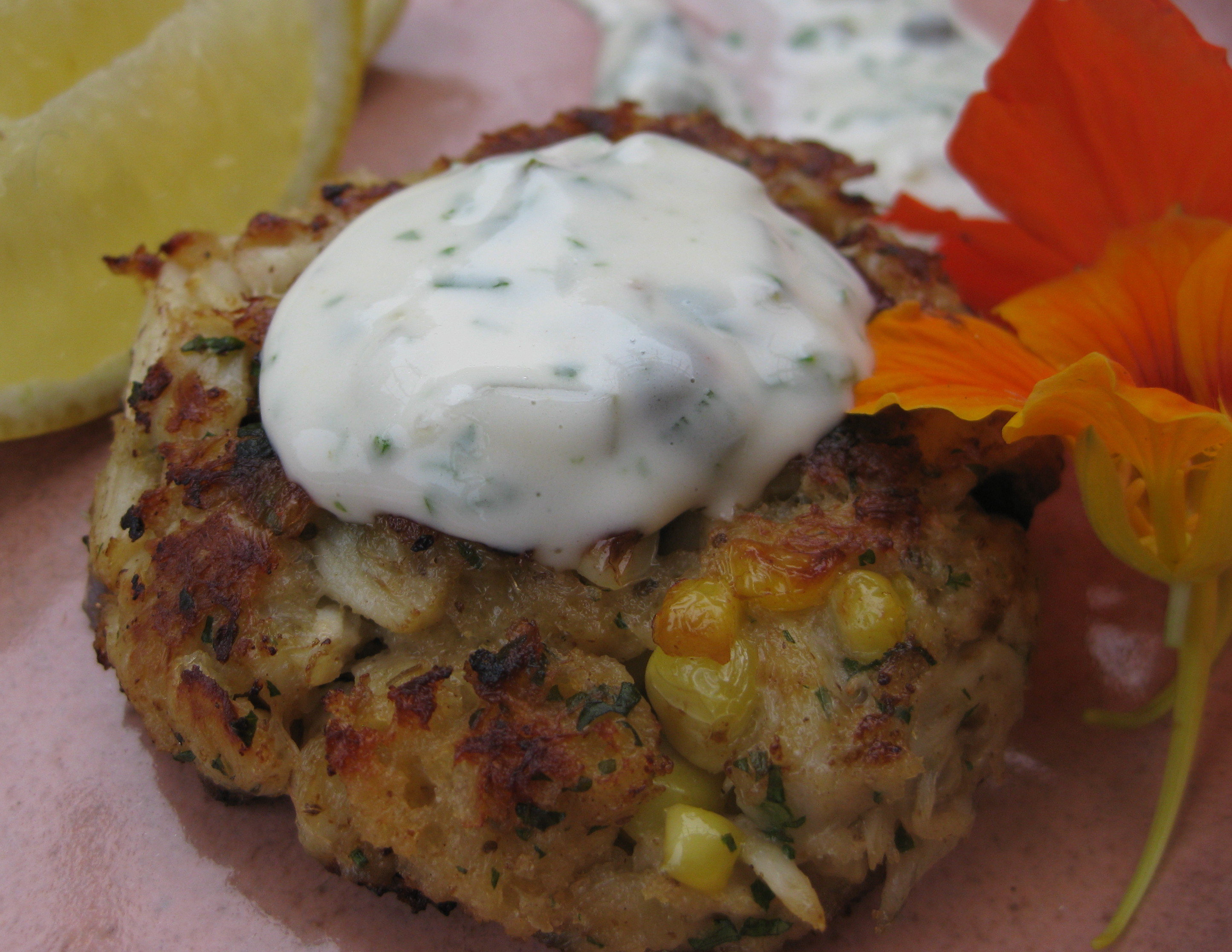 crab cakes crab cake recipes cooking light crab and corn cakes recipe ...