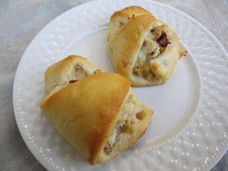 Creamy Chicken Stuffed Crescent Rolls Tasty Kitchen A Happy