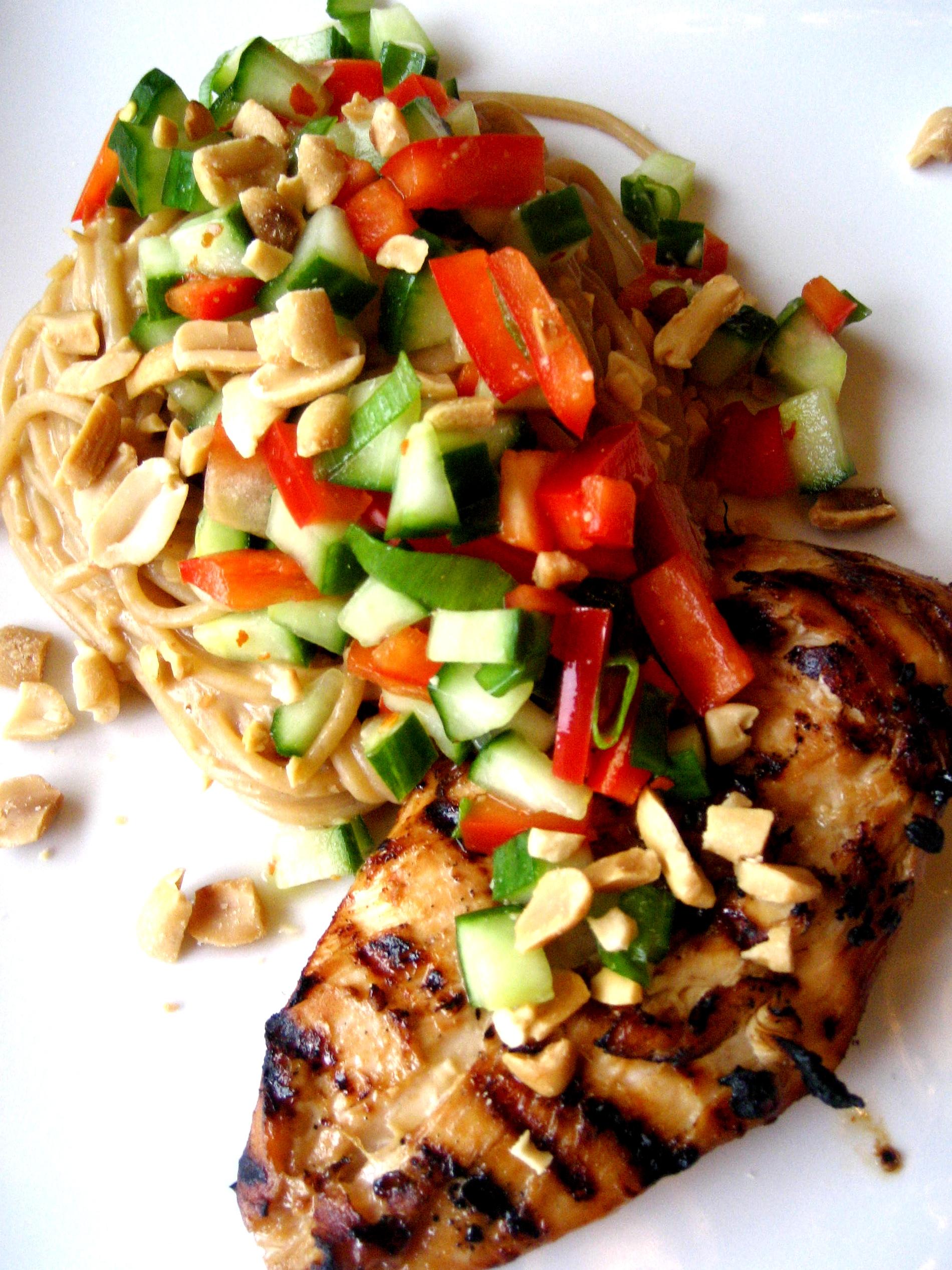Spicy Chicken Peanut Noodles | Tasty Kitchen: A Happy Recipe Community ...