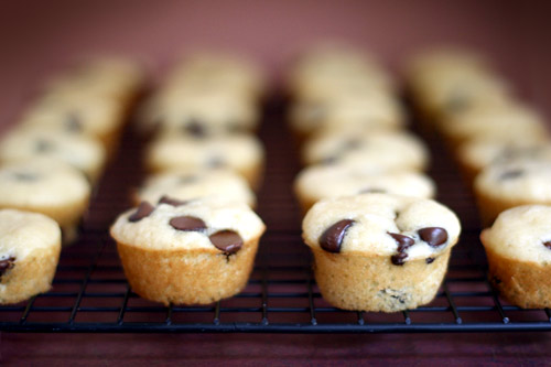 Mini Maple Chocolate Chip Pancake Muffins | Tasty Kitchen: A Happy ...