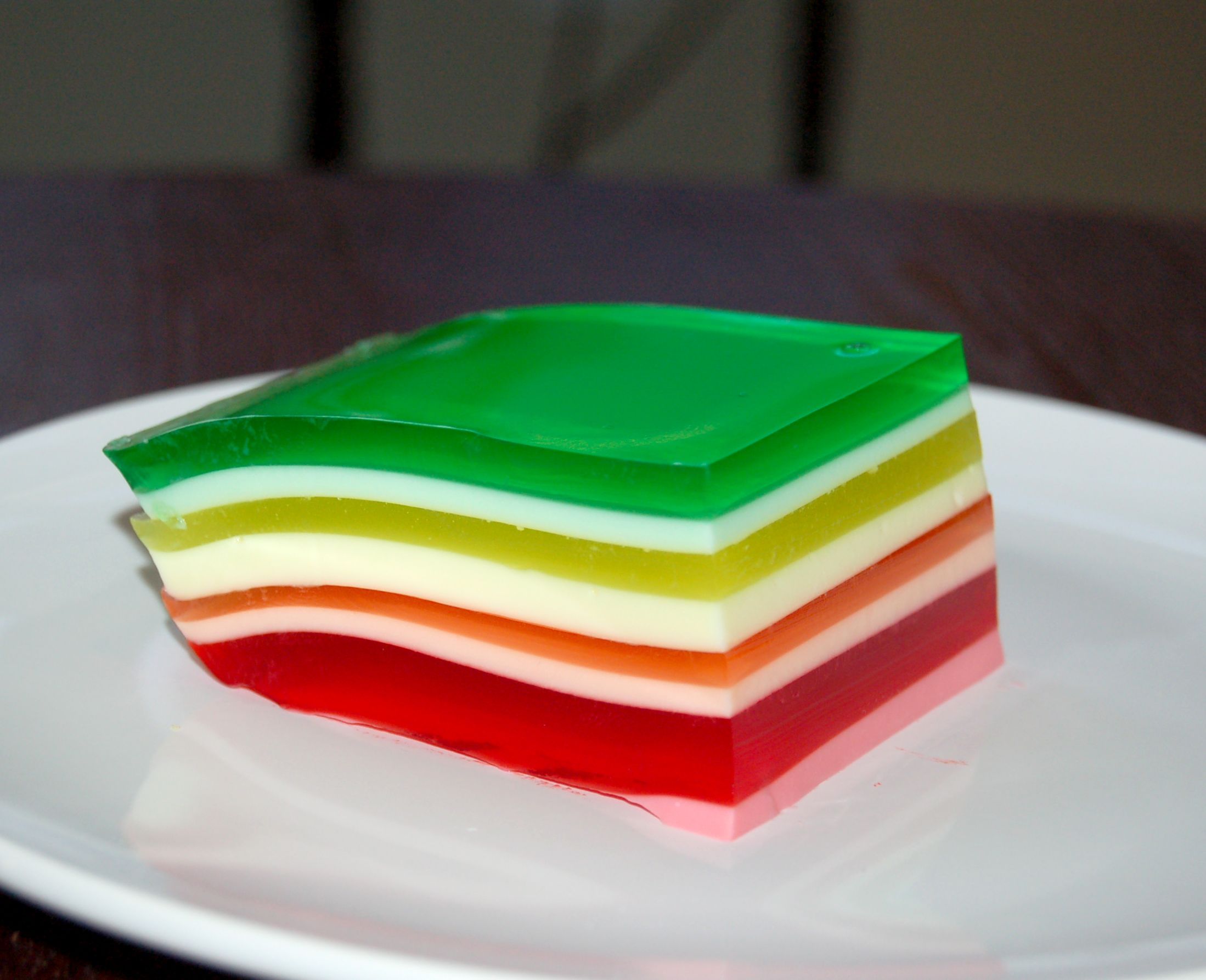 Rainbow Cake With Jello Recipe