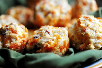 Bacon Onion Cheddar Biscuits | The Pioneer Woman
