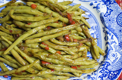 Old fashioned pole beans recipe 21