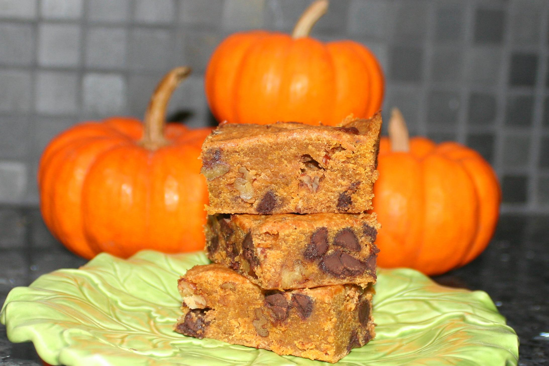 Pumpkin Blondies | Tasty Kitchen: A Happy Recipe Community!