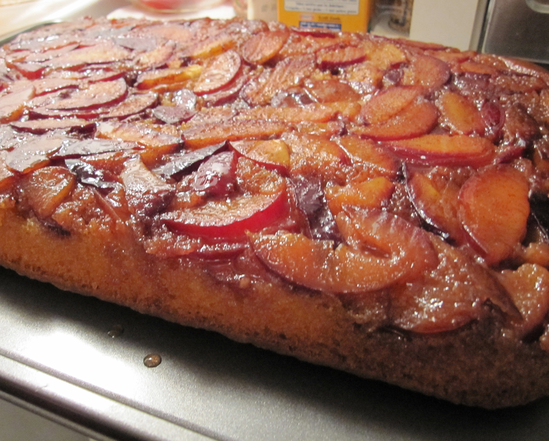 Plum Upside Down Cake (Way Better Than Pineapple!) | Tasty Kitchen: A ...