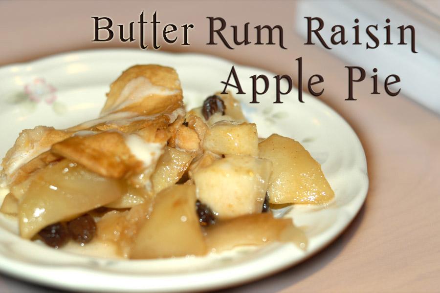 Old Fashioned Apple Raisin Pie