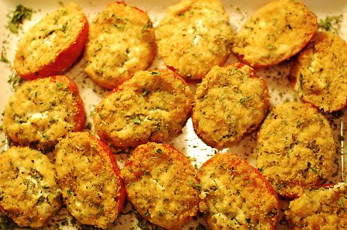 Pastor Ryan's Roasted Ricotta Roma Tomatoes | Tasty Kitchen: A Happy ...