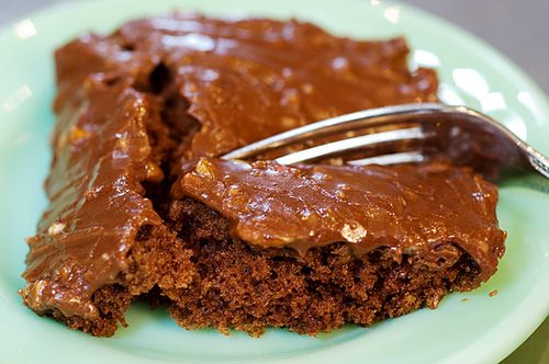 Recipe Texas Sheet Cake Sour Cream