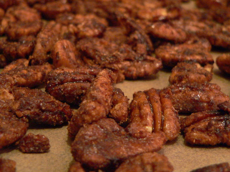 Holiday Spiced Candied Pecans | Tasty Kitchen: A Happy Recipe ...