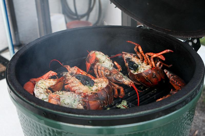 Grilled Lobster with Garlic Butter Sauce | Tasty Kitchen ...