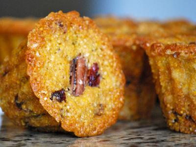 Cranberry Pecan Cornmeal Muffins | Tasty Kitchen: A Happy Recipe ...