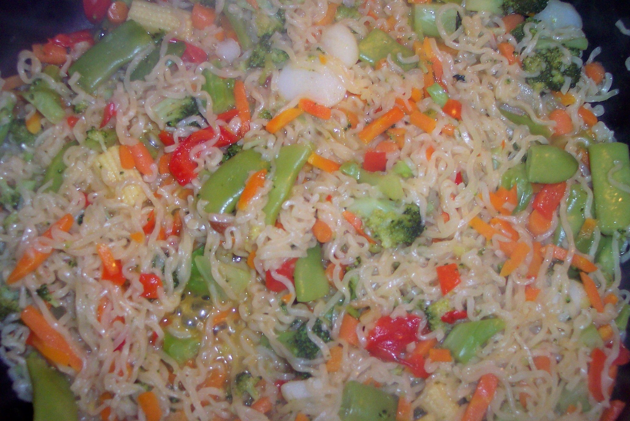 Салаты из замороженных овощей рецепты