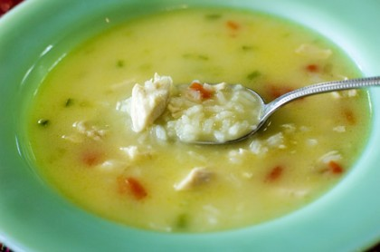 Chicken and rice soup the pioneer woman simple hearty chicken and rice soup forumfinder Choice Image