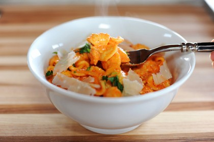 Pasta with Roasted Red Pepper Sauce | The Pioneer Woman