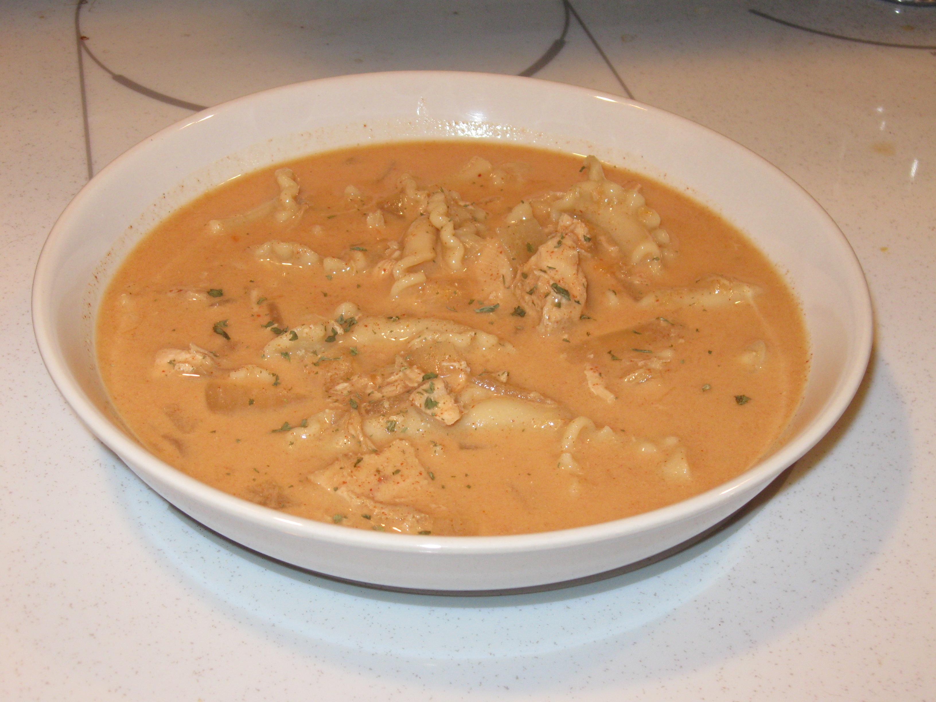 Paprikash Soup Chicken Chicken Paprika Soup Tasty