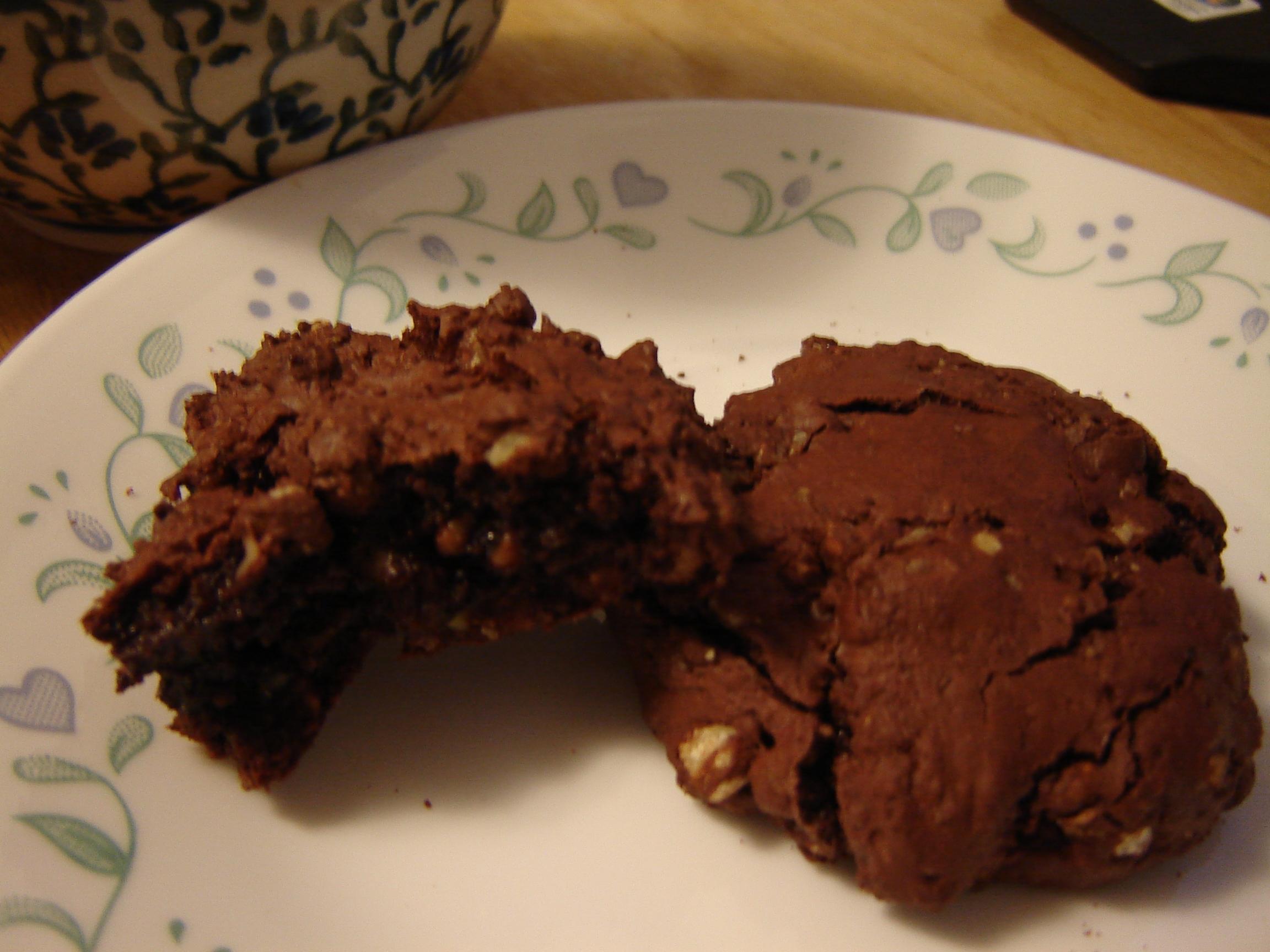 Flourless Chocolate-Walnut Cookies | Tasty Kitchen: A Happy Recipe ...