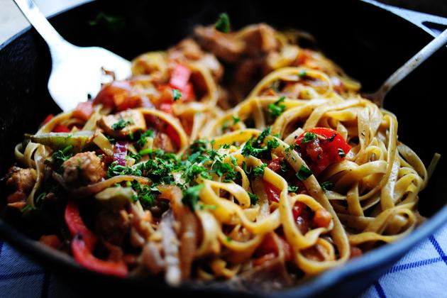 Food Recipe Creamy Cajun Chicken Pasta  Nl