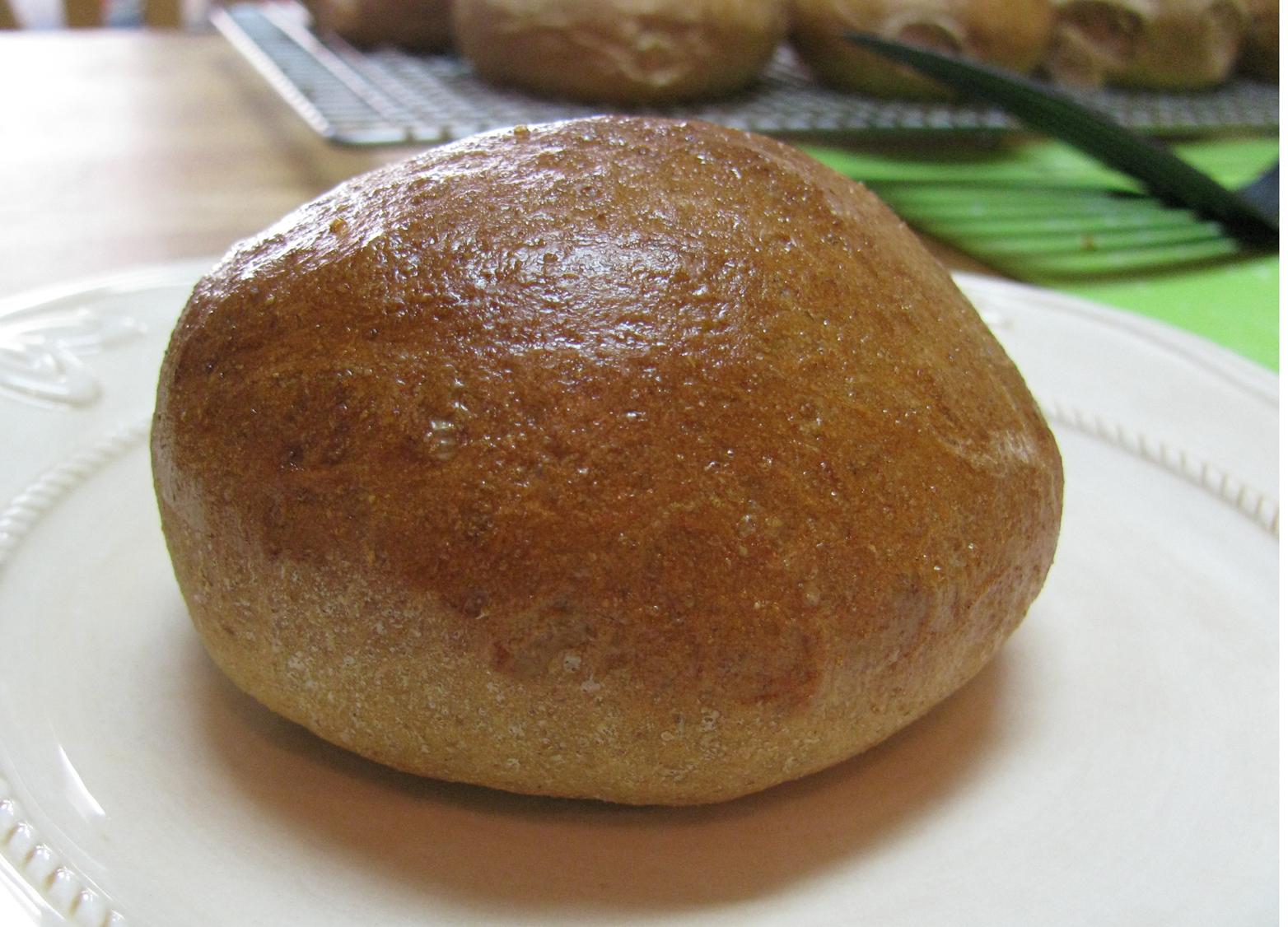 Brown Bread Buns | Tasty Kitchen: A Happy Recipe Community!