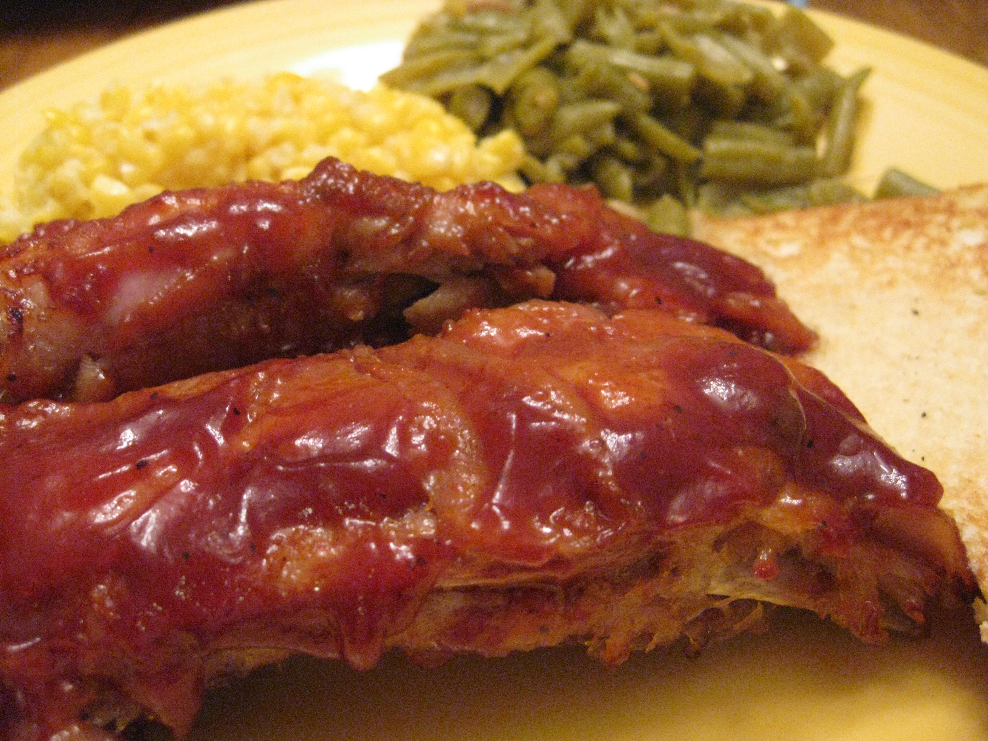 Sweet And Smoky Oven Spareribs Recipes — Dishmaps