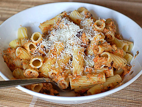 Rigatoni with Eggplant Puree | Tasty Kitchen: A Happy Recipe Community ...
