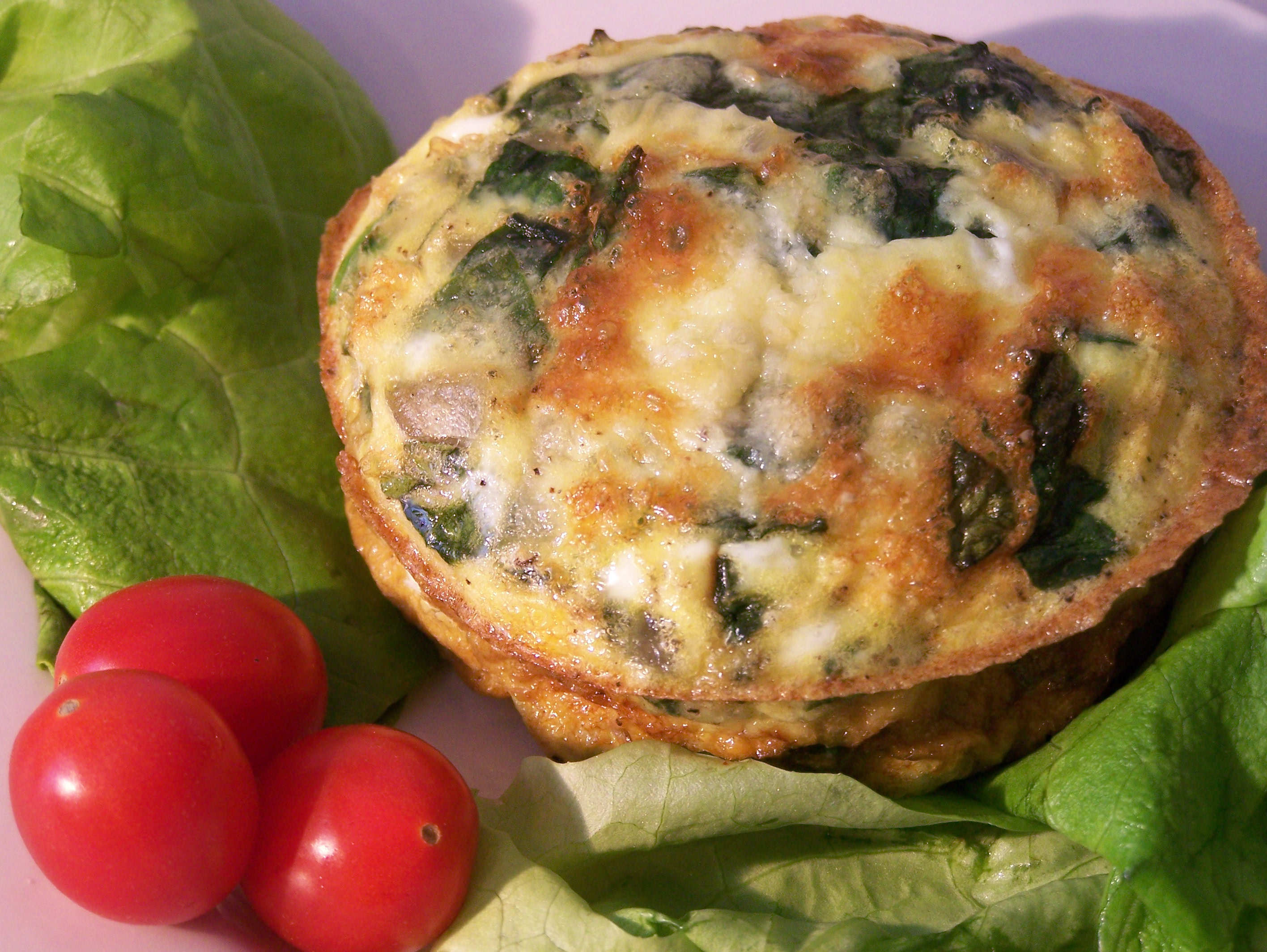 Spinach Frittata for One | Tasty Kitchen: A Happy Recipe Community!