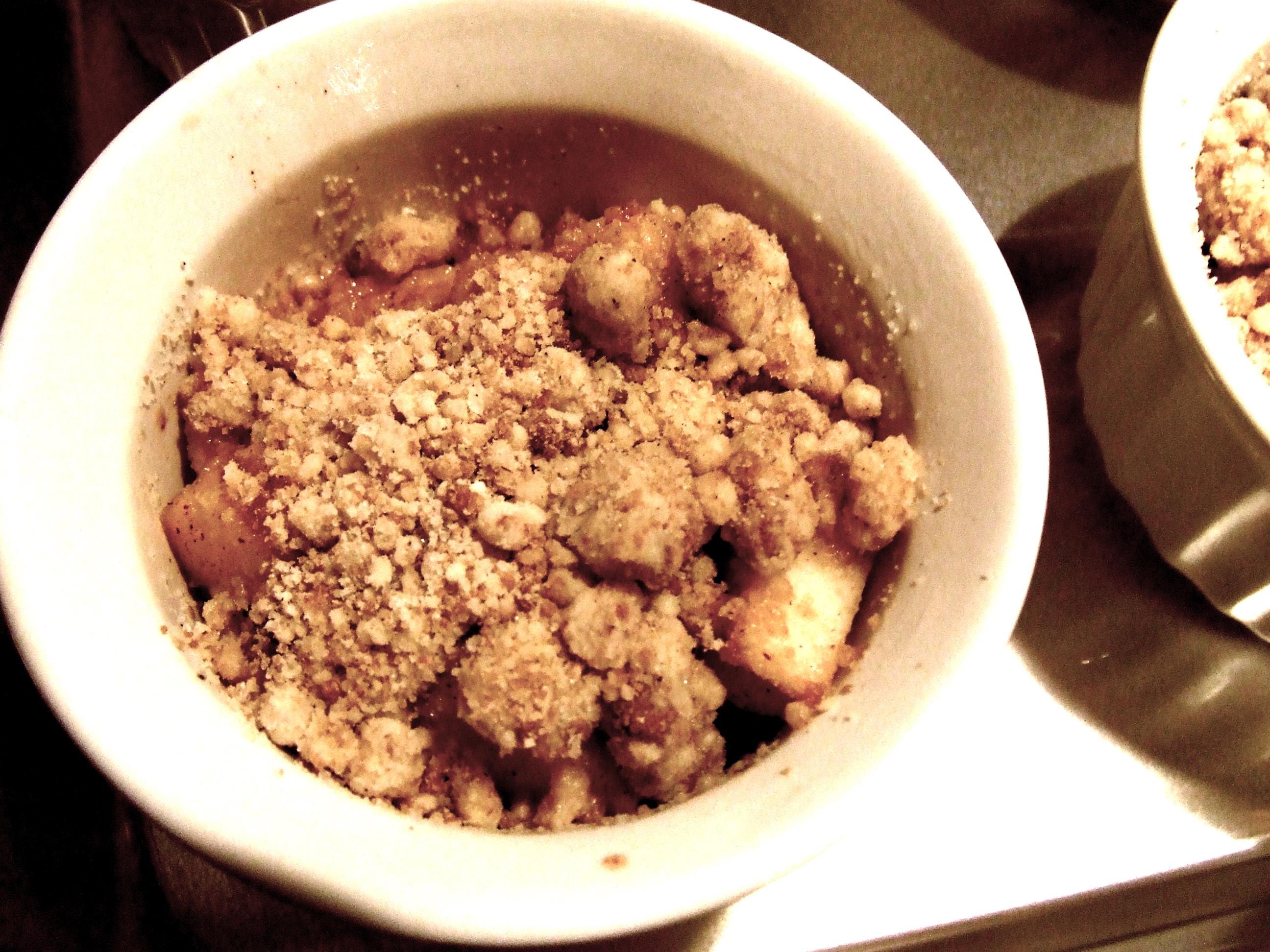 Amaretto Crisp | Tasty Kitchen: A Happy Recipe Community!