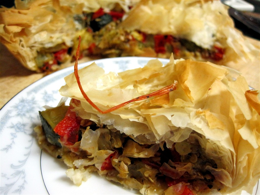 Roasted Vegetable Tart | Tasty Kitchen: A Happy Recipe Community!