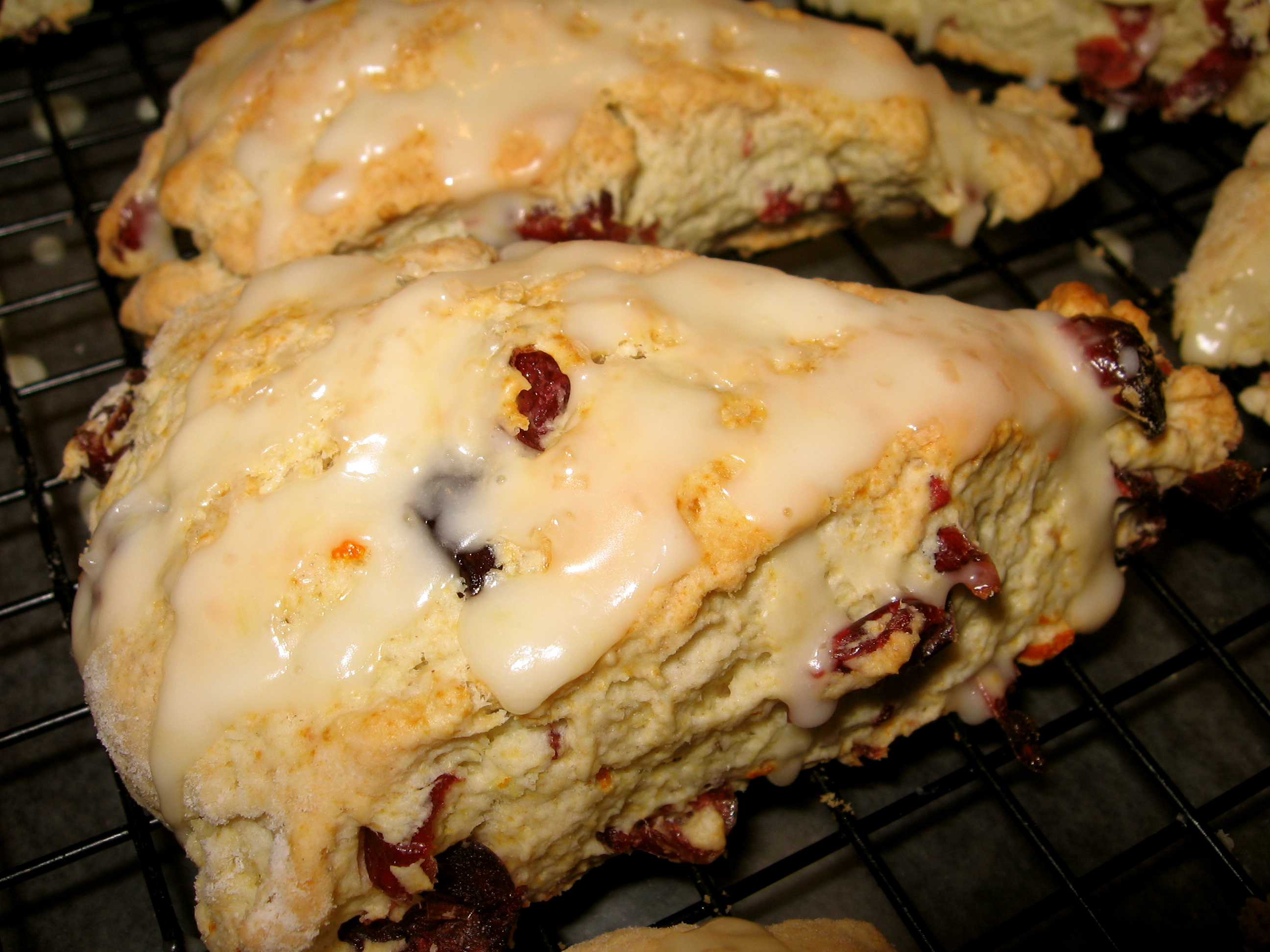 Cranberry Orange Scones | Tasty Kitchen: A Happy Recipe Community!