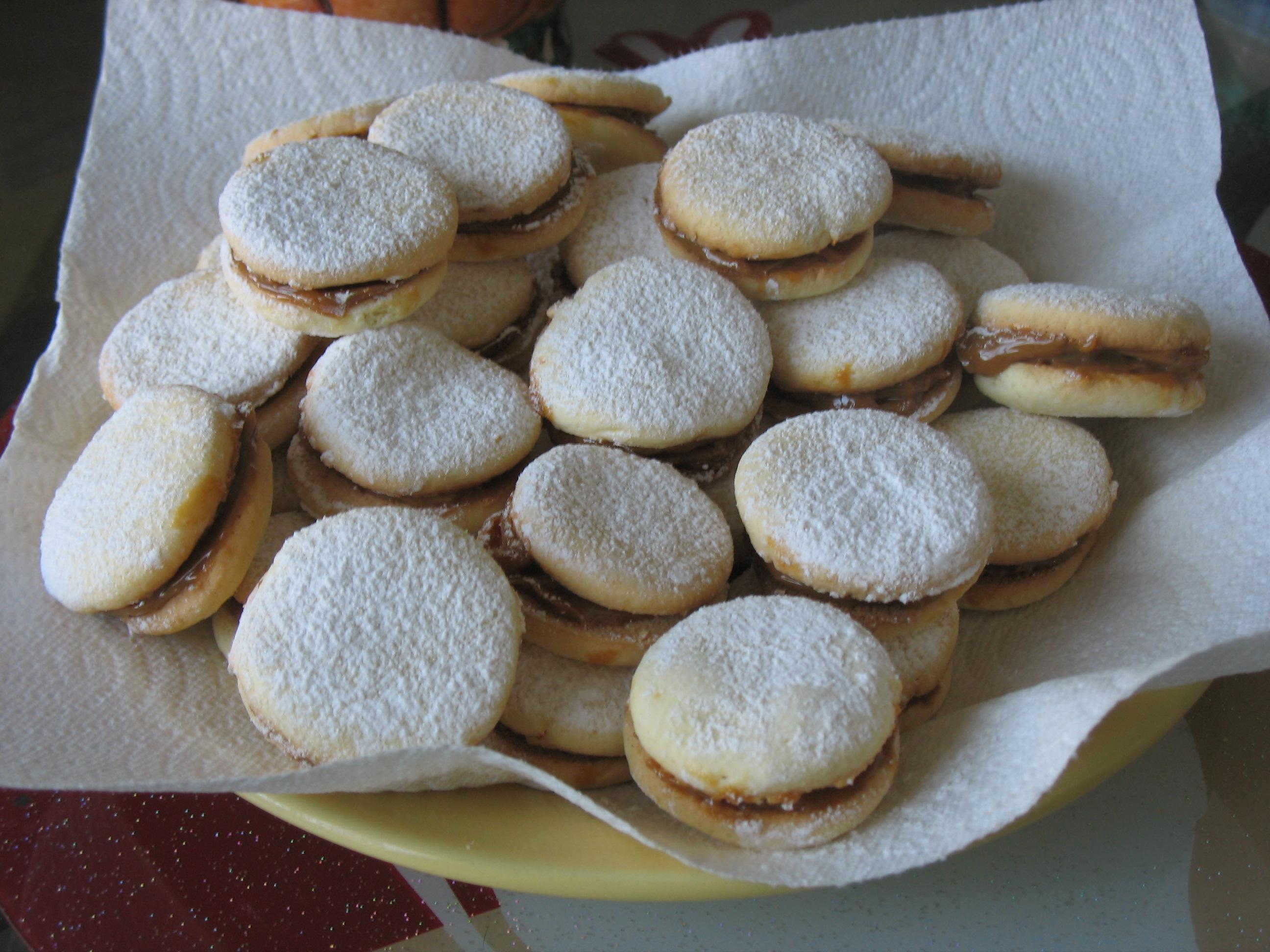 Овсяное печенье с сгущенкой пошагово