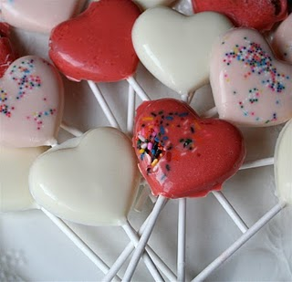 White Chocolate Heart Lollipops Tasty Kitchen A Hy Recipe Community