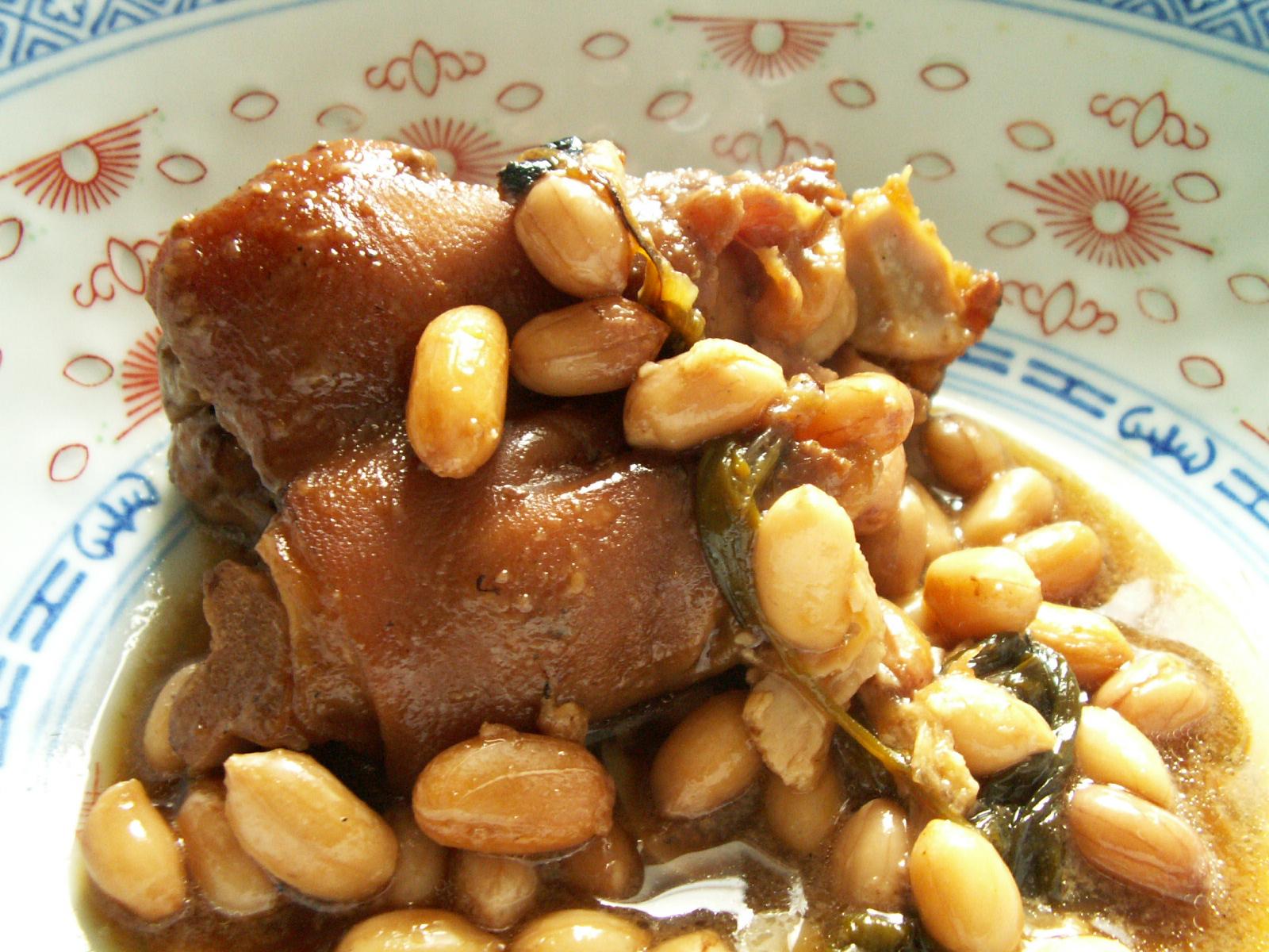 Pig feet peanut soup recipes