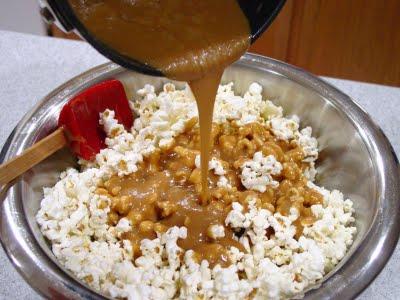 Рецепт попкорна с сиропом